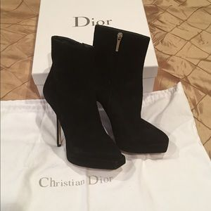 Christian Dior new fabulous booties, size 8